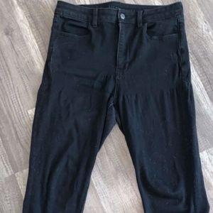 American Eagle All Black Jeans